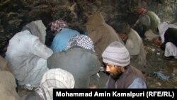 شماری از معتادین مواد مخدر در شهر کابل