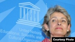 UNISCO head Irina Bokova