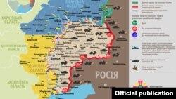 Ситуация в Донбассе по состоянию на 20 августа