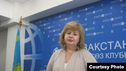 Марианна Гурина, руководитель организации «Улагатты жануя». Алматы, 20 января 2016 года.