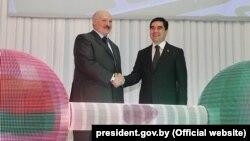 Гарлыкского ГОК был открыт 31 марта 2017 года при участии президентов двух стран Александра Лукашенко и Гурбангулы Бердымухамедова
