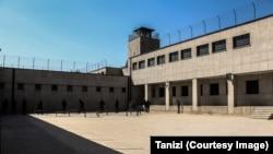 Прогулочный двор для политических заключенных в бывшей тюрьме Каср в Тегеране, ныне музее.