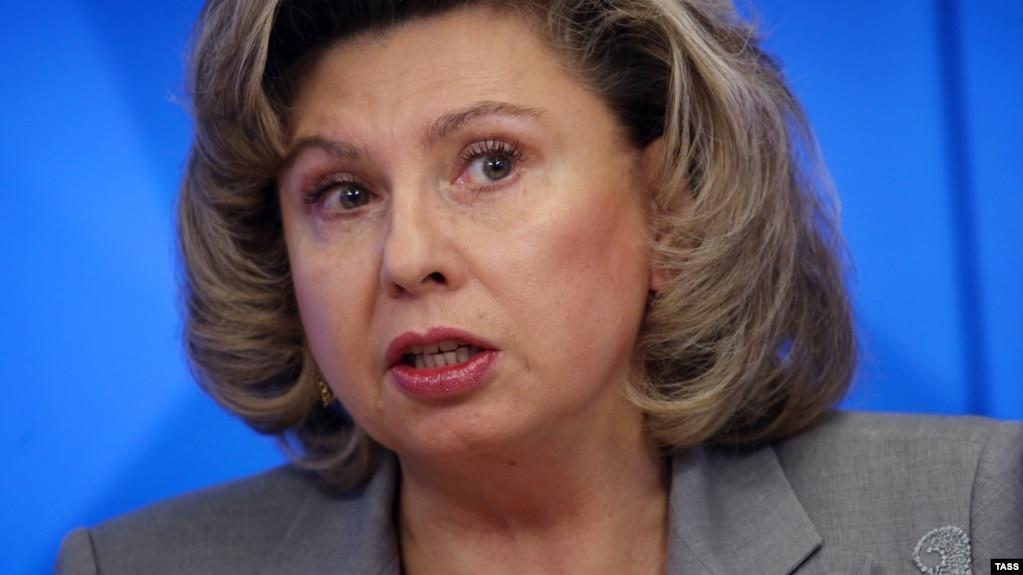 Tatyana Moskalkova, the Kremlin's human rights ombudswoman