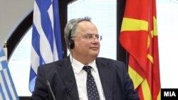 Ministri i Jashtëm i Greqisë, Nikos Kocijas