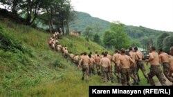 Մարզումներ ԼՂ Պաշտպանության բանակի ստորաբաժանումներից մեկում, արխիվ