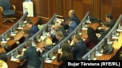 Deputetët e LDK-së, grupit më të madh opozitar në Kuvendin e Kosovës.
