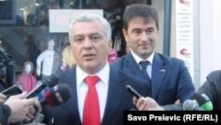 Andrija Mandić i Nebojša Medojević, 12. januar 2011.