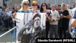 Protesti podrške za Atifa Dudakovića u Bihaću