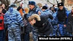 Арест у Замоскворецкого суда