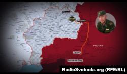 Перше завдання Фофанова у складі «ЛНР». Він пригнав бойову машину через російсько-український кордон
