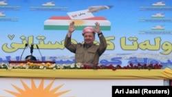 Իրաքի քրդերի առաջնորդ Մասուդ Բարզանի, արխիվ