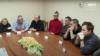 Лукашэнка сустракаецца з палітвязьнямі, палітвязьні ў СІЗА КДБ. Менск, 10 кастрычніка 2020 году.