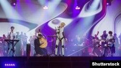 Виступ гурту ONUKA на фіналі пісенного конкурсу «Євробачення-2017». Київ, 12 травня 2017 року