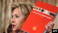 Secretarul de stat Hillary Clinton