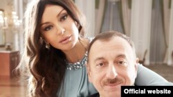 Првата дама на Азербеџан Мехрибан Алиева и претседателот Илхам Алиев