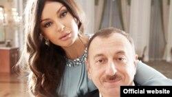 Мехрибан Алиева с мужем Ильхамом Алиевым, президентом Азербайджана.
