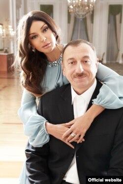 Prezident Ilham Əliyev və xanımı Mehriban Əliyeva