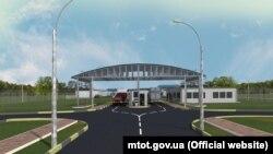 Проект реконструкції КПВВ на адмінкордоні з Кримом
