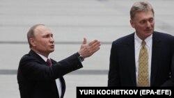 Ռուսաստանի նախագահ Վլադիմիր Պուտինը և նրա խոսնակ Դմիտրի Մեդվեդևը, արխիվ