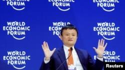 Кытайдын эң бай адамы, «Алибаба» компаниясынын негиздөөчүсү Жек Ма.