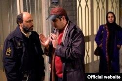 عبدالرضا کاهانی و رضا عطاران در پشت صحنه فیلم «اسب حیوان نجیبی است»