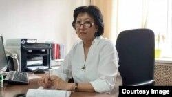 Клара Өскөмбаева.