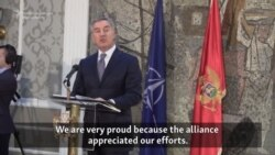Montenegro Proud Of Earning NATO's Trust