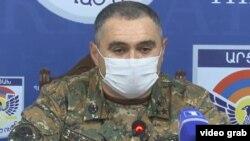 Заместитель министра обороны Нагорного Карабаха Артур Саргсян