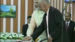 بند سلما توسط رهبران افغانستان و هند افتتاح شد