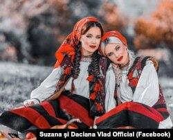 Suzana și Daciana Vlad.