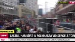 У столиці Швеції внаслідок наїзду вантажівки загинули й поранені люди (відео)