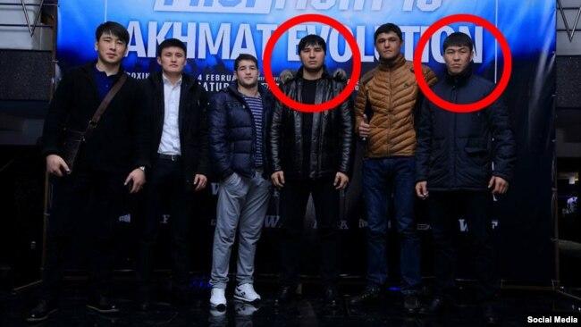 Кылычбек Саркарбаев и Тологон Рахманберди уулу, который обвинил первого в том, что тот выстрелил в него.