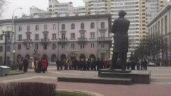 У Менску адзначылі 124-ты дзень нараджэньня Максіма Багдановіча