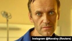 Ресейлік оппозициялық саясаткер Алексей Навальный. Навальныйдың Instagram парақшасынан алынған. 22 қыркүйек 2020 жыл.