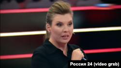 Ведуча ток-шоу «60 минут» Ольга Скабєєва