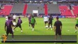Bayern-Çelsi: qarşılaşma öncəsi məşq
