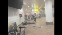 Potresni prizori nakon napada u Briselu