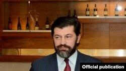Վրաստանի էներգետիկայի նախարար Կախա Կալաձեն, արխիվ: