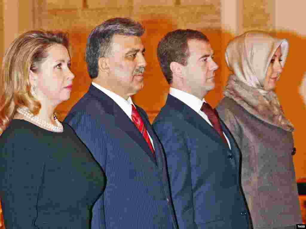 Государственный визит президента Турции в Россию