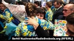 Повернення збірної України з юнацької Олімпіади – фото