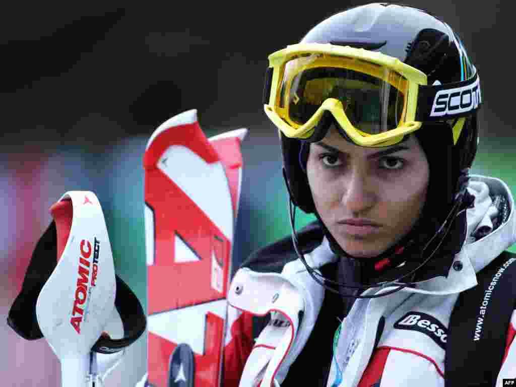 مرجان کلهر اولین زن ایرانی در المپیک زمستانی