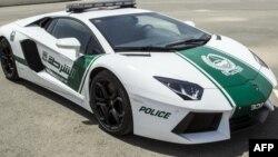 Дубай полициясы көлігінің бірі. 11 сәуір 2013 жыл. (Көрнекі сурет)