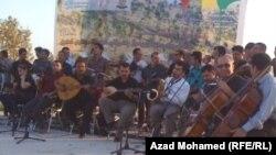 Туркоша Иракъехь мехаза дIаяьхьна концерт, Сулаймани, Гезгмашин-бутт, 2011