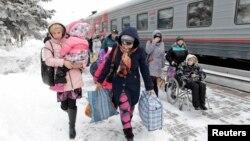 Переселенці з Донбасу в Росії, архівне фото