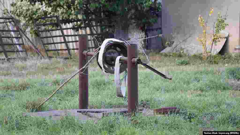 Колодец в одном из сельских дворов