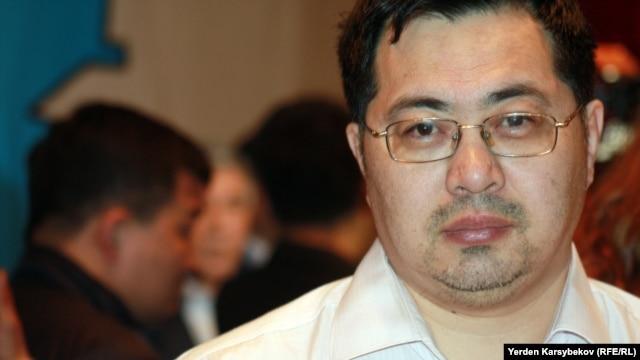 Активист Ермек Нарымбаев.