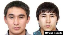 Разыскиваемые ФБР США по подозрению в мошенничестве. Алишер Омаров (слева) и Ермек Досымбеков. Фото с сайта ФБР.