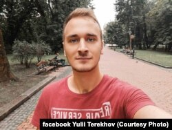 Юлій Терехов, один із студентів, яких побив «Беркут» 30 листопада 2013 року у Києві