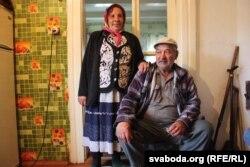 Галіна Вішнеўская з мужам большую частку жыцьця пражылі ў Давыд-Гарадку
