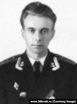 """Командир ГС-34 (""""Унго"""") капитан-лейтенант Александр Козьмин"""